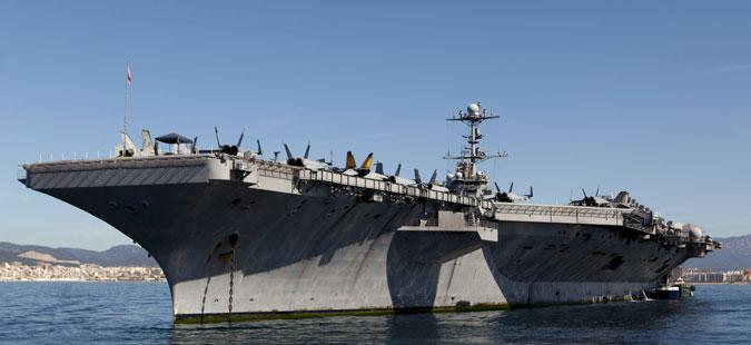 """Американскиот носач на авиони """"Хари Труман"""" вплови во Медитеранот"""