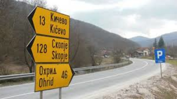 Блокада на патот Кичево – Охрид кај селото Ботун, еве кога и како може да се помине