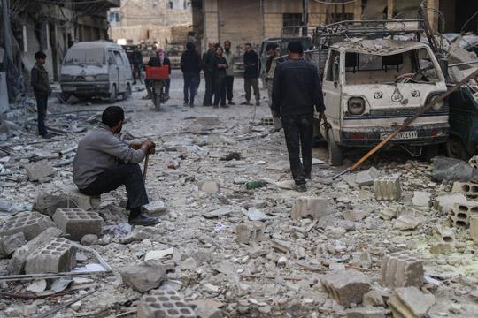 Најмалку 19 лица загинаа во експлозија во сирискиот град Идлиб