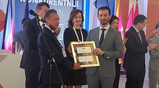 Општина Илинден со сертификат за поволно деловно опкружување во ЈИЕ (BFC SEE)