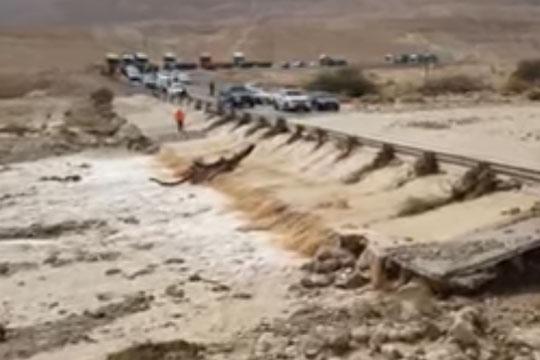 Најмалку девет луѓе загинаа во поплавите во Израел