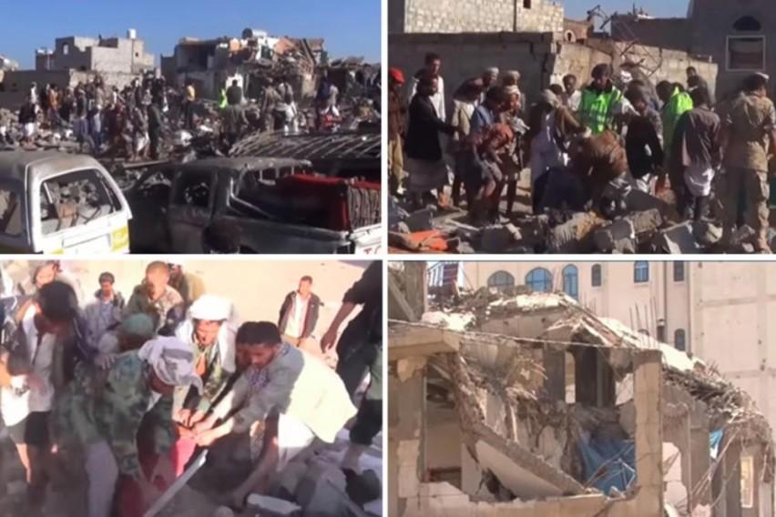 Направија масакр на свадба во Јемен: 20 сватови загинале, 46 ранети во воздушни напади (ВИДЕО)