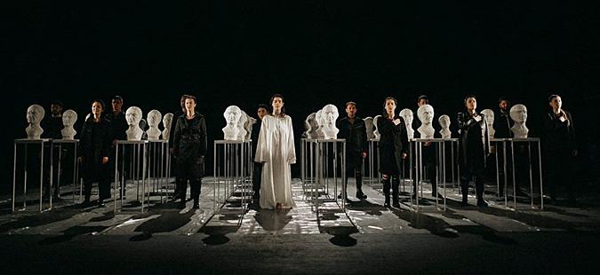 """Премиера на претставата """"Јулие Цезар"""" во Битолскиот театар"""