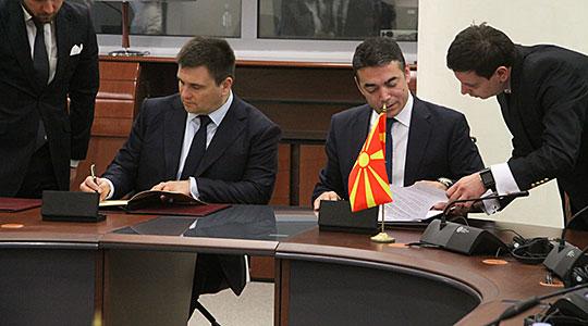 Македонија и Украина ќе ја интензивираат политичката и економската соработка