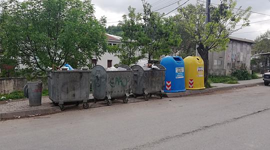 Се поставуваат контејнери за селектирање отпад во Кавадарци