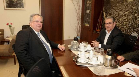 Коѕијас и Куцубис разговарале за Македонија, Албанија, Турција и Кипар