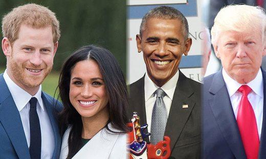 Ни Трамп, ни Обама: Нема место за политичари на кралската венчавка