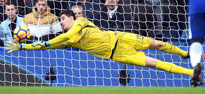 Куртоа најдобриот играч во Ла Лига во јануари