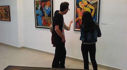 Во Велес отворена изложба од 24. Меѓународна кичевска ликовна колонија