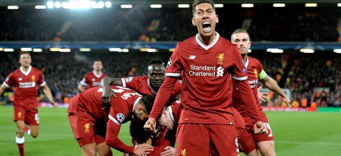 Ливерпул со огромна предност ќе патува за Рим