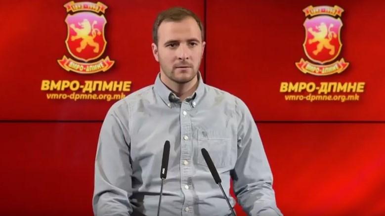 Кржаловски си поднесе неотповиклива оставка од функцијата лидер на Унијата на млади сили на ВМРО-ДПМНЕ