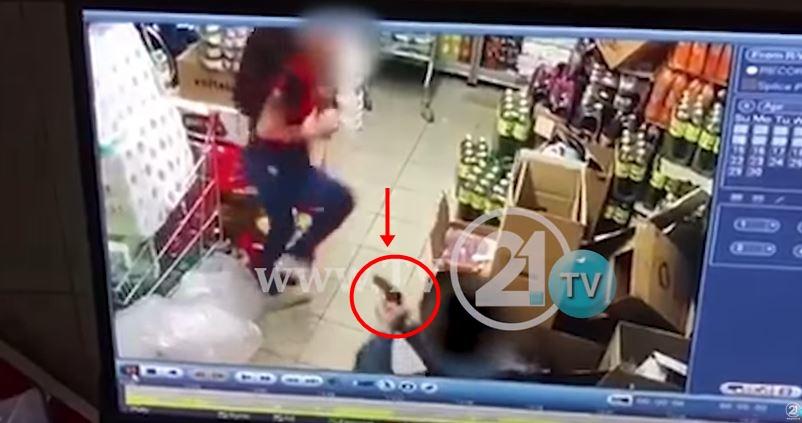 ВИДЕО: Пукањето во Чаир снимено од безбедносните камери – хорор во скопски маркет