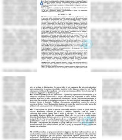 Меморандум на албанските интелектуалци, 7 точки за решавање албанското прашање во Македонија
