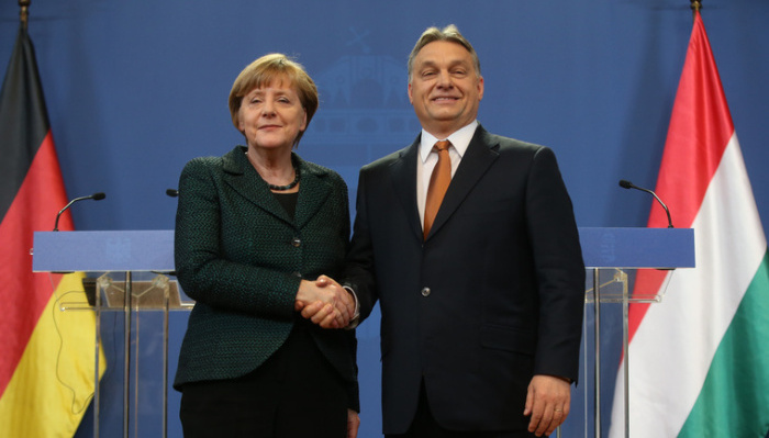 Меркел му честиташе на Орбан