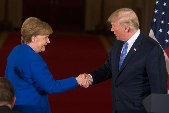 Меркел и Трамп разговараа за Северна Кореја, Иран и трговијата