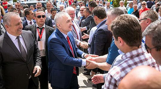 Мета на средба со Мерко во Струга