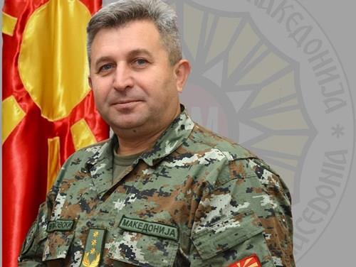 Македонска воена делегација во посета на Хрвастка