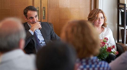 Мицотакис: Грчкото општество е исклучително непријателско кон прашањето за името