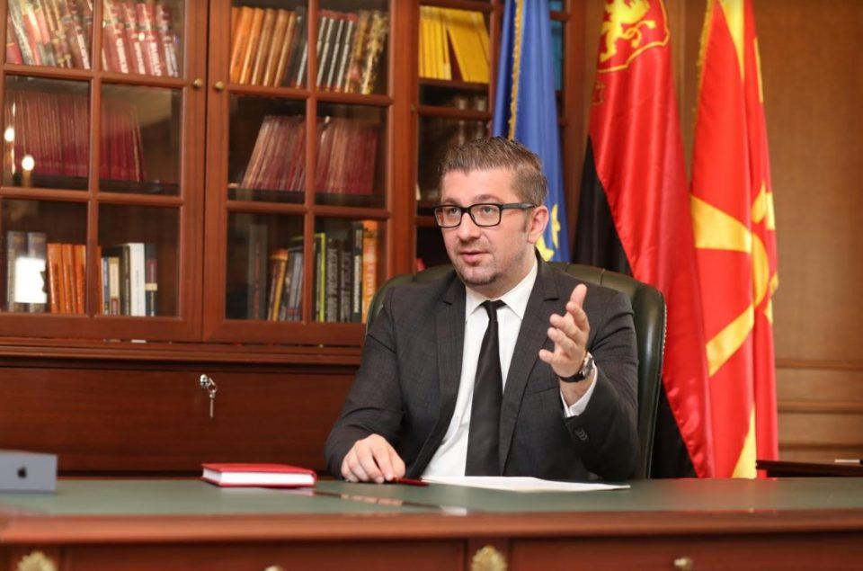 Интервју на Мицкоски за КУРИР: Во Македонија се случува колективен грабеж полош од транзицијата