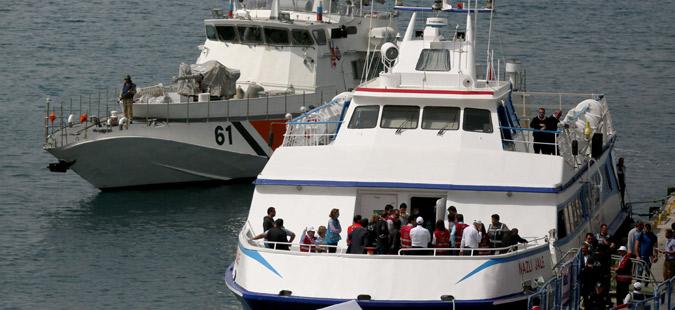 За една седмица на островите во Егејското Море пристигнале 2377 бегалци и мигранти