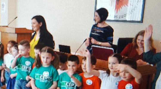 """Втора транснационална средба """"Млади научници"""" во Дебар"""