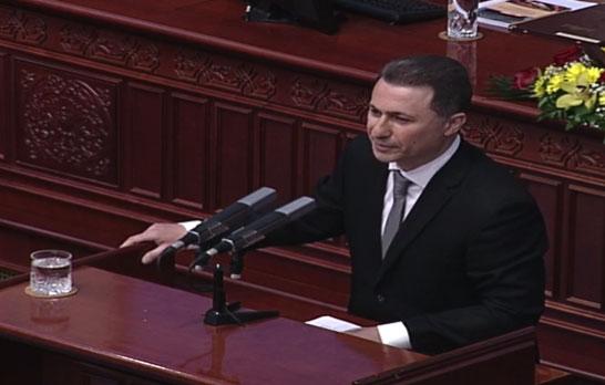 Груевски: Ова е трчи- лажи влада, која ја крши кичмата на државата (ВИДЕО)