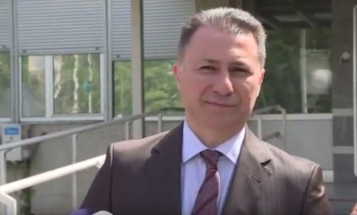 Груевски: Приметлив е начинот на кој провладините медиуми сакаат да ја дефокусираат јавноста од клучните прашања