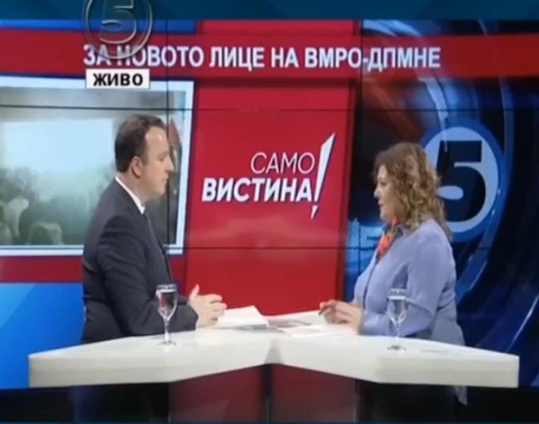 Николоски со прашање до Османи: Дали намерно ги успорувате реформите во Македонија за да и помогнете на Албанија?
