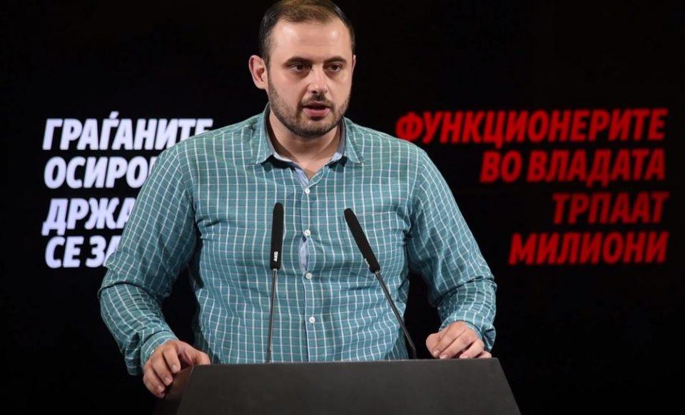 Ѓорѓиевски: Функционерите во владата бесрамно трпаат десетици милиони евра, Заев и Анѓушев да одговорат за колку е зголемен нивниот имот