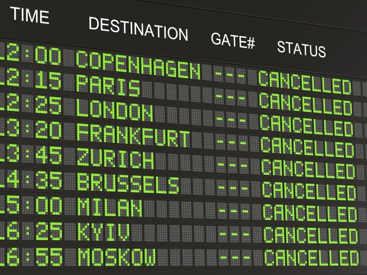 Луфтханза откажа над 800 летови поради штрајк на германски аеродроми