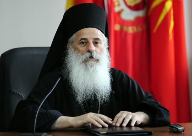 Приведен владиката Петар, човекот кој го осуди договорот со Бугарија
