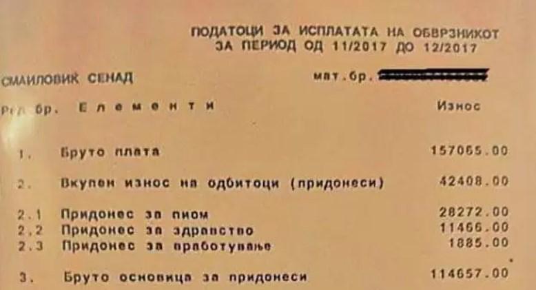 ДОЈДЕ ЖИВОТ ЗА СЕНКО: Директор поставен од СДСМ си ја покачил платата од 1.000 на над 1.700 евра (ФОТО)