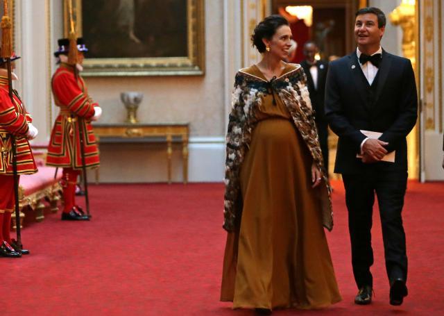 ФОТО: Таа е првата премиерка која ќе оди на породилно отсуство