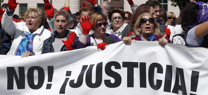 Протести во Шпанија поради ослободување обвинети за силување