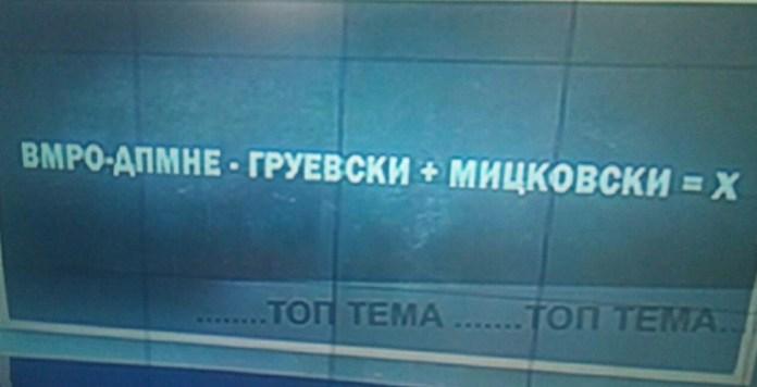 Мицкоски експресно ја реши равенката на Чомовски