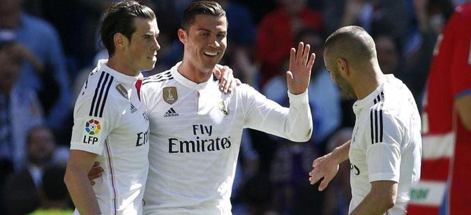 Статистиката покажува крај за триото Бејл – Бензема – Роналдо
