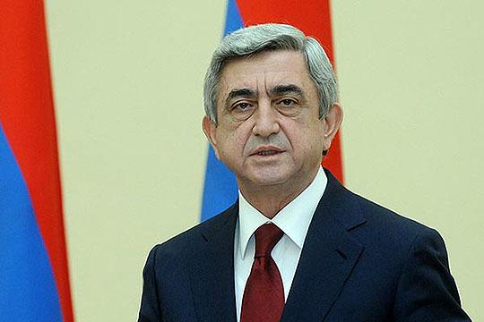 Серж Сарксјан избран за премиер на Ерменија