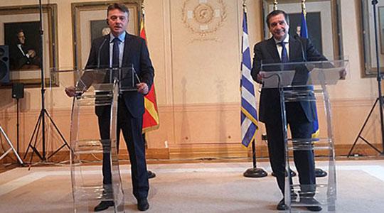 Градоначалникот на Атина денеска и утре во Скопје