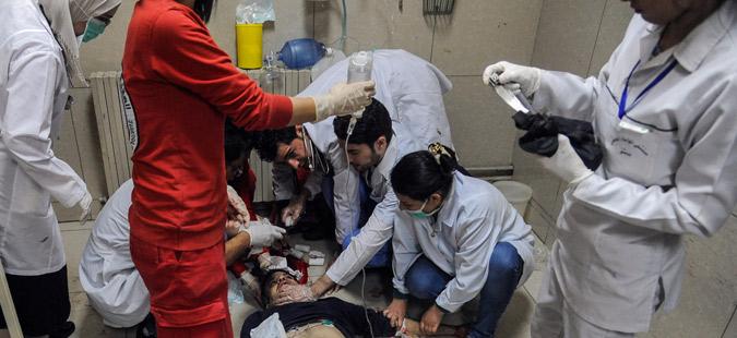 Десетици луѓе загинаа во наводeн хемиски напад во Сирија
