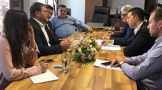"""ЈП """"Водовод и канализација"""" и Водовод – Будимпешта ќе ја интензивираат соработката"""