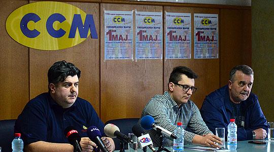 ССМ на 1-ви мај со марш и синдикални барања