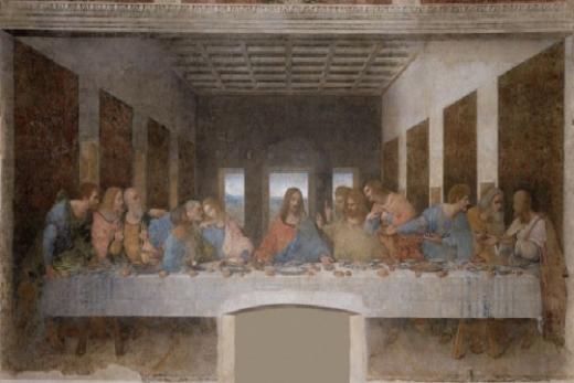 """Симболиката на бројот 3 содржана во """"Тајната вечера"""": Зошто пред Јуда има истурено сол"""