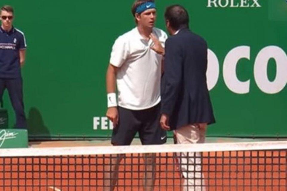 Му се заледи крвта: Бесниот американски тенисер откако му се доближи на судијата ја шокираше публиката (ВИДЕО)