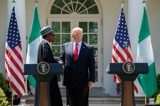 Трамп првпат прими лидер на африканска земја во Белата куќа