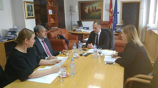 Министерот Филипче се сретна со полскиот амбасадор Мултановски