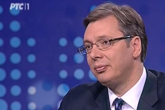 Вучиќ: Србија и Хрватска испаѓаат смешни пред цел свет