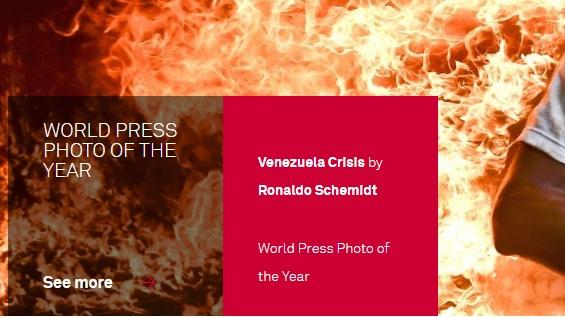 ЧОВЕК ВО ПЛАМЕН: Избрана светската фотографија на годината (ФОТО)