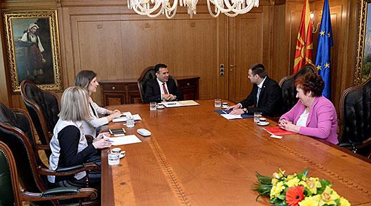 Средба на Заев со претставници на хрватската заедница во Македонија