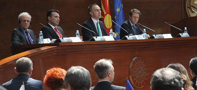 Сервер: Името мора се реши и Македонија да стане дел од ЕУ и НАТО