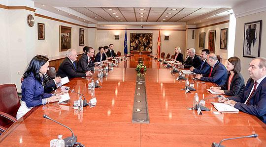 Средба на Заев со делегација од германскиот Бундестаг
